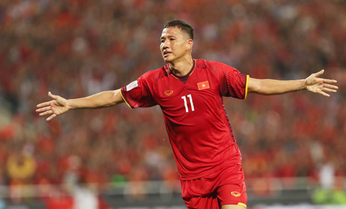 Nguyen Anh Duc, the top scorer for Vietnam in the tournament. Photo by Duc Dong/VnExpress