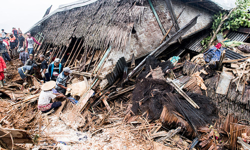 Indonesian landslide leaves 15 dead in West Java