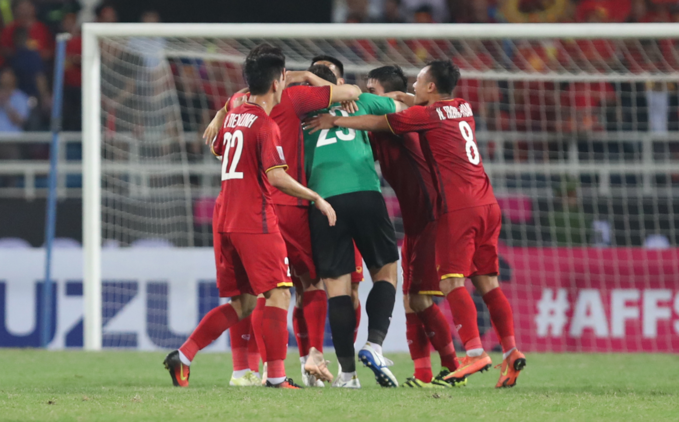 Vietnam will compete in AFC Asian Cup 2018 as the champion of Southeast Asia. Photo by VnExpress/Duc Dong.