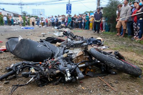 Road Accident near HCMC Vietnam