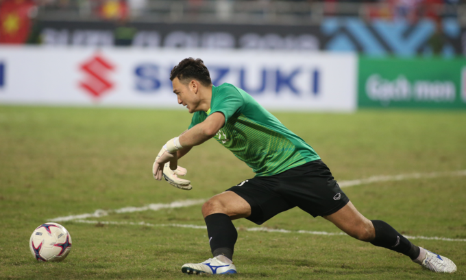 Fox Sports: Vietnam goalkeeper one to watch at Asian Cup