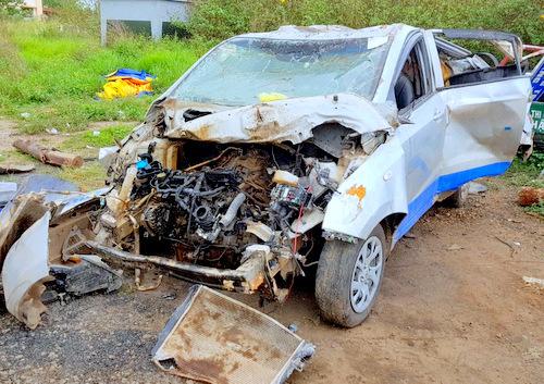 Speeding drunk driver kills three in Vietnam's Central Highlands