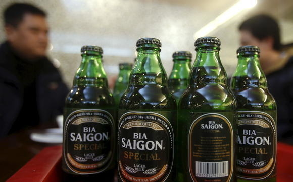 Vietnam's largest brewer a foreign owned business now