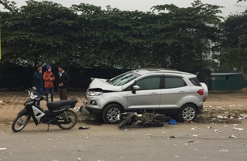 An accident occured in Hanoi on January 6 killing two and injuring two others. Photo by H.D.