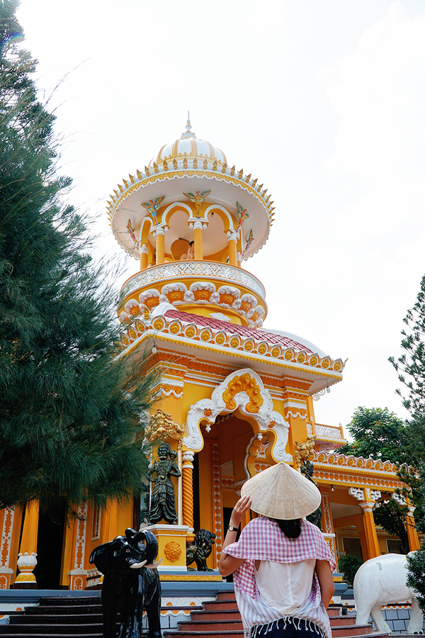 Tay An pagoda. Photo by VnEpxress/Phong Vinh