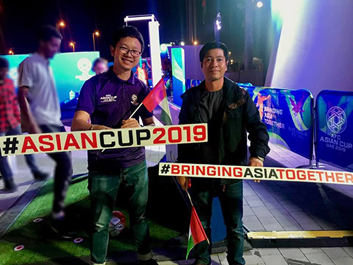 10 Vietnamese join AFC program to promote Asian Cup