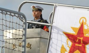 Chinese warships dock in Cambodia to boost 'military cooperation'