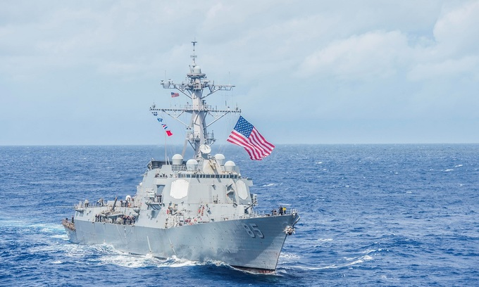 Vietnam says 'respects' freedom of navigation as US warship sails near Paracels