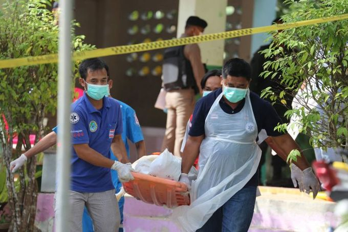 Four civil defense volunteers gunned down at school in southern Thailand