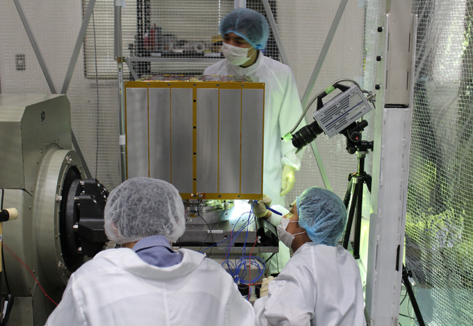 Vietnams coast observation satellite gets ready to go into space - 2