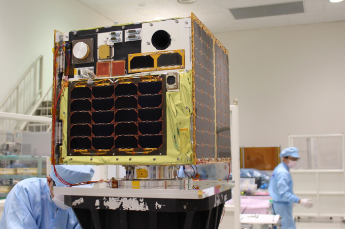 Vietnams coast observation satellite gets ready to go into space