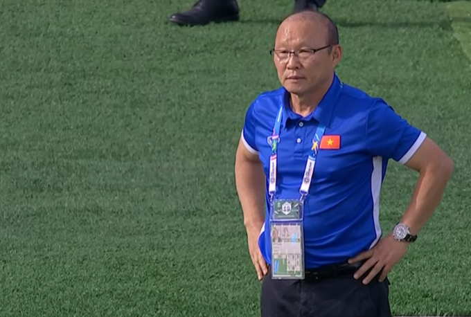 Coach Park happy with players despite Iran loss