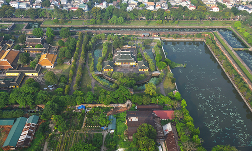 Hue from above: Vietnam's former capital shines in peace