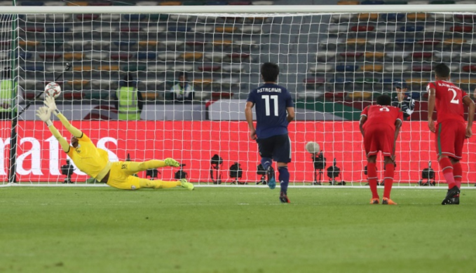 'Lucky' Japan reach Asian Cup knockouts as Qatar hit North Korea for six