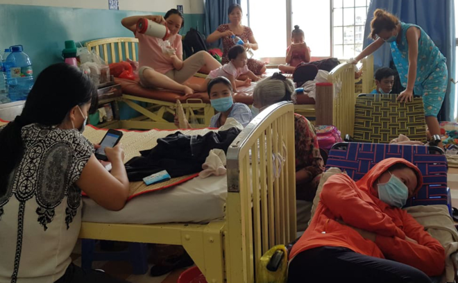 Measles outbreak burdens major Saigon hospital