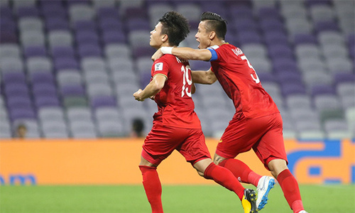 Vietnam defeat Yemen, hopeful for Asian Cup Round of 16
