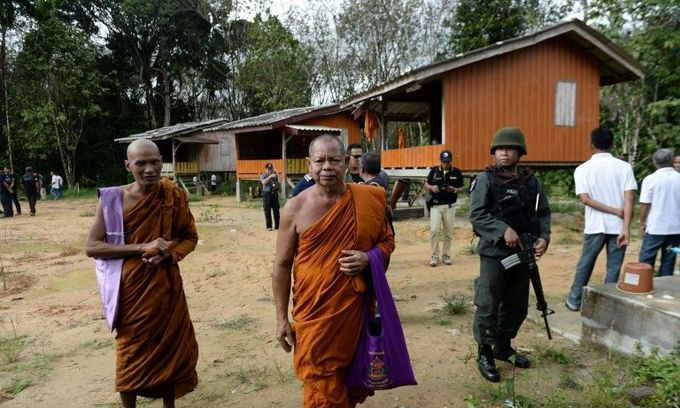 Two monks shot dead as violence flares in Thailand's deep south