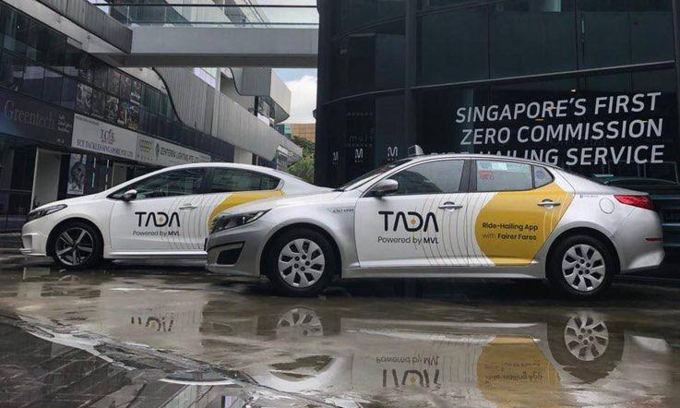 Singaporean ride-hailing startup TADA launches in Vietnam