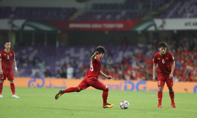 Asian Cup: Vietnam midfielder wins best player, best goal votes