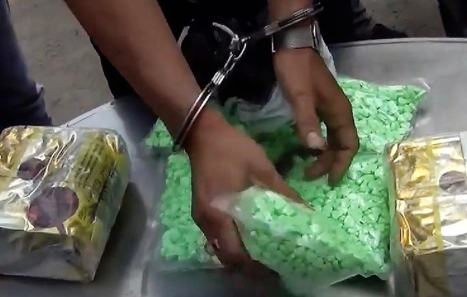 HCMC gang trafficking drugs from Cambodia busted