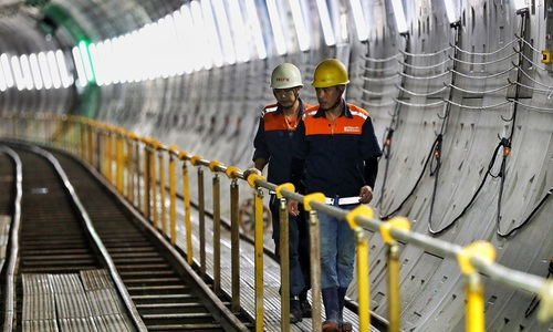 80 percent of HCMC's first metro line to be completed in 2019