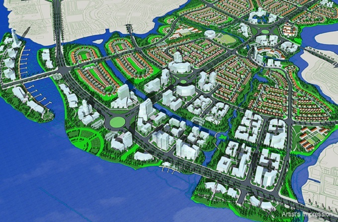 Keppel to sell 70 pct stake in Vietnam waterfront township