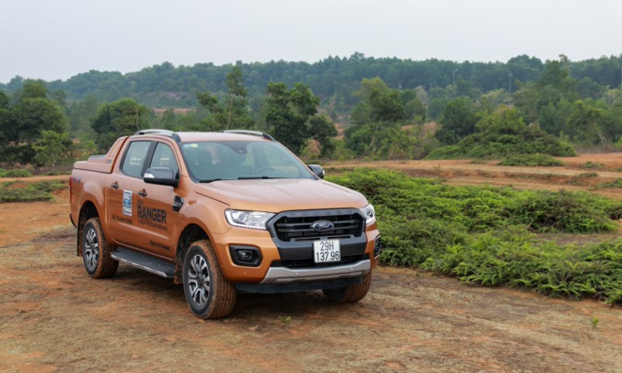 [Ranger pickup, Fords flagship model in Vietnam. Photo by Duc Huy.