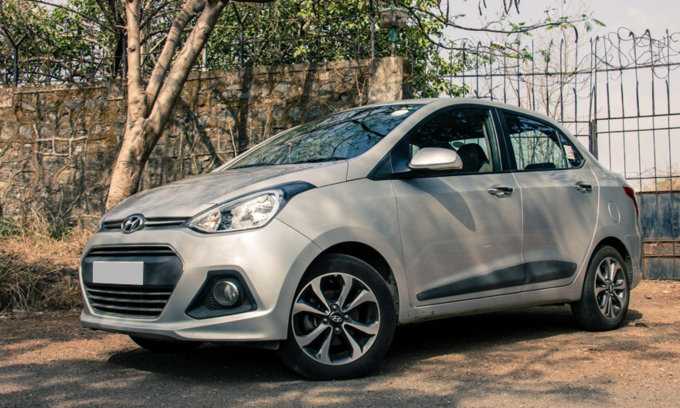 [Hyundai i10 locally assembled version. Photo by VnExpress]