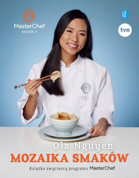 Olas book cover as the Polish MasterChef in the 7th season. Photo taken from her Facebook.