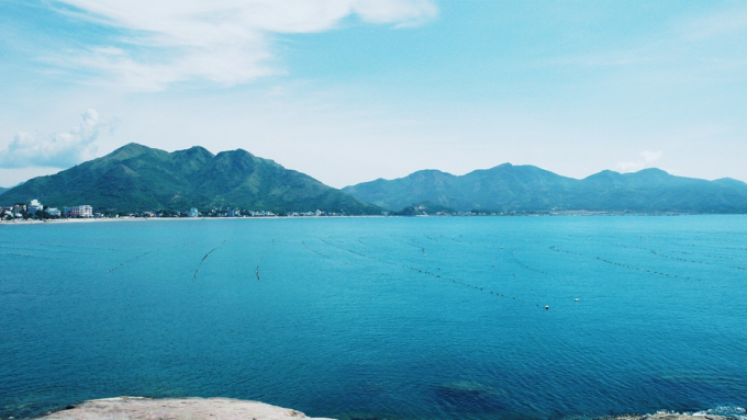 A vast view of Nha Trang beach. Photo by VnExpress/Phong Vinh