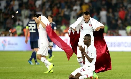 Ali's 'golden touch' floors Japan as Qatar lift Asian Cup