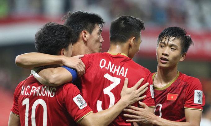 Vietnam climb in FIFA ranking