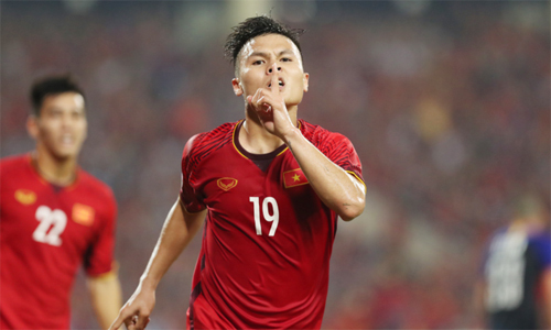 Best goal of Asian Cup 2019 scored by Vietnam midfielder Hai