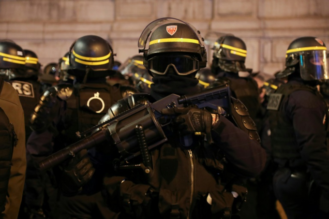 French police have used a range of crowd control weapons blamed by some rights activists for serious injuries to yellow vest protesters. Photo by AFP/Zakaria Abdelkafi