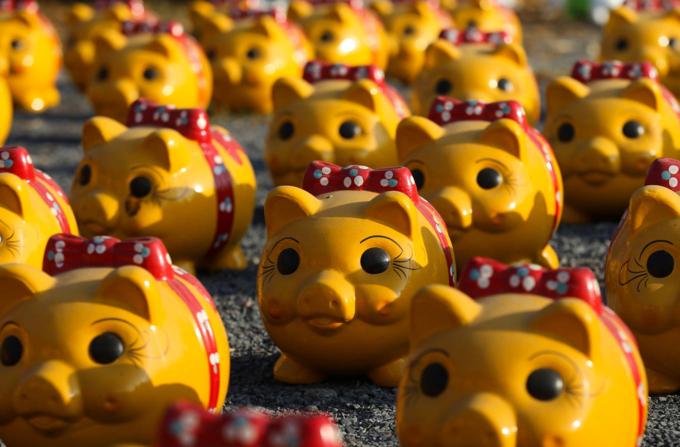 Welcome Tet with thousands of piggybanks at Dong Nai park