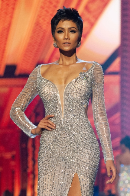HHen Nie,a Top 5 Miss Universe contestant. Photo acquired by VnExpress