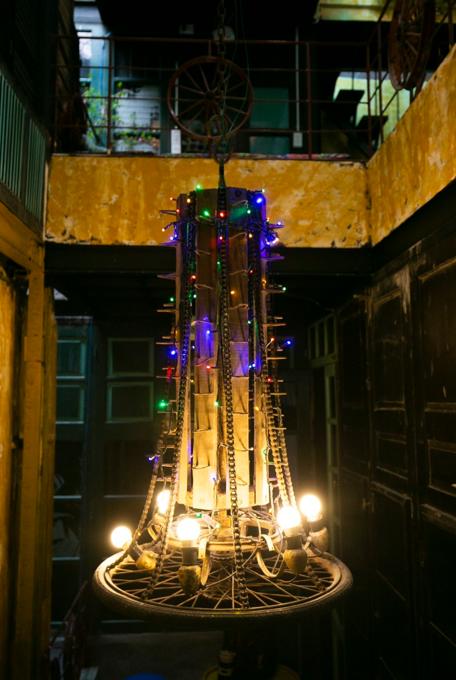 Hanoi café wheels into a new level of recycling - 4