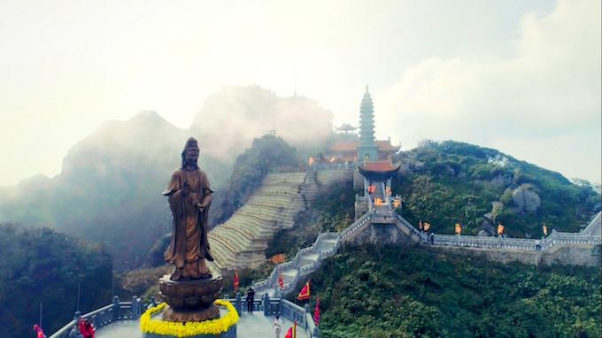 Vietnams tallest mountain acquires a spiritual dimension - 10