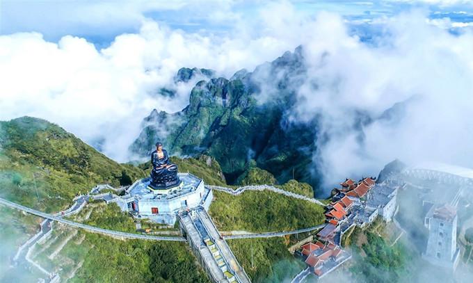 Vietnams tallest mountain acquires a spiritual dimension - 2