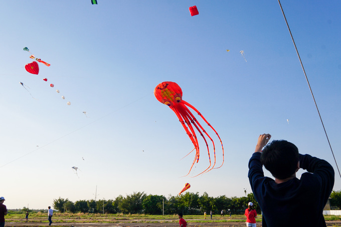 Colorful kites ascend over Vietnams southern sky in first few days of the Lunar New Year - 5