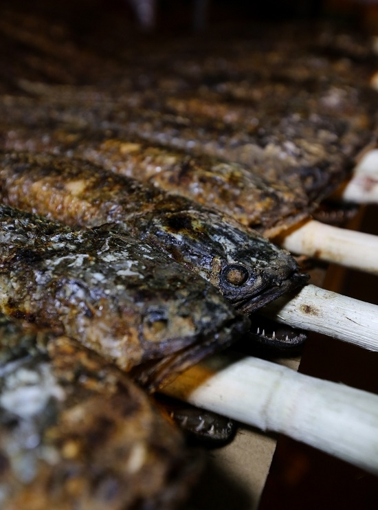 When people spend the night grilling snakehead fish for God of Wealth - 5