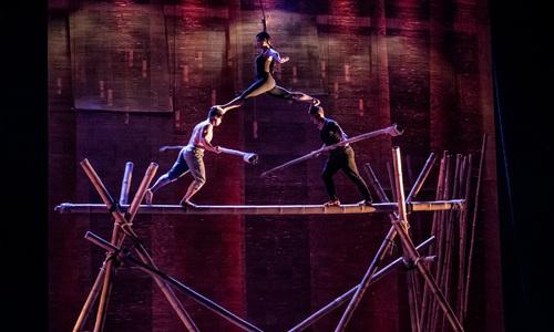 Vietnam's 'My Village' bamboo circus wows Australia
