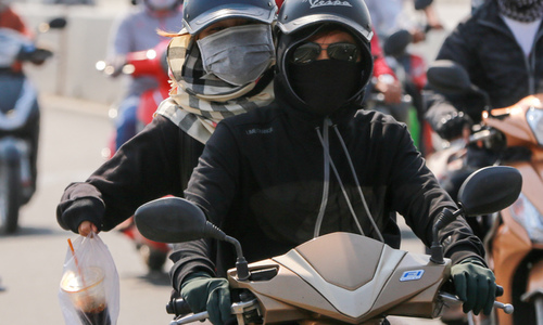 Slowly, but surely, an invisible poison is choking Vietnamese cities