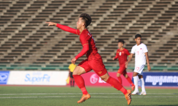 Vietnam start U22 AFF Championship with comeback win over Philippines
