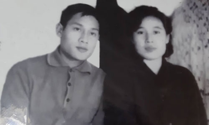 Their first photo together taken in Spring 1971.Photo courtesy of Pham Ngoc Canh