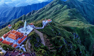 Vietnam's tallest mountain acquires a spiritual dimension