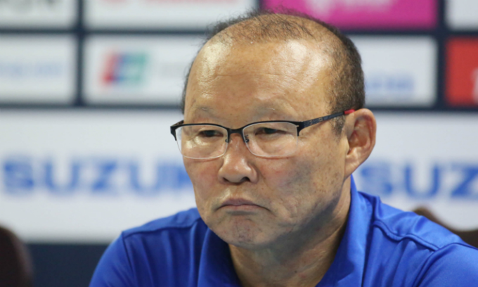 Coach Park 'tired' of managing both senior and junior teams