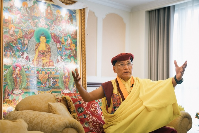 Venerated Buddhist monk Gyalwang Drukpa in Vietnam for spring festival - 5