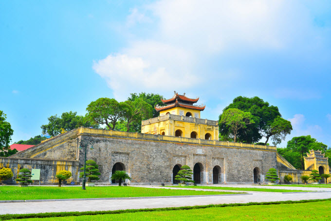 Thang Long Imperial Citadel. Photo by Shutterstock/anhuynh