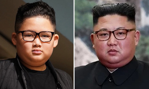Fourth grader stars in role as Kim Jong-un